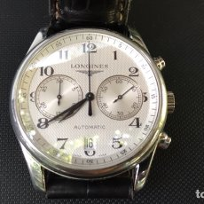 Relojes automáticos: LONGINES CRONOGRAFO AUTOMÁTICO DE ACERO. CALIBRE L651.3. Lote 128280664