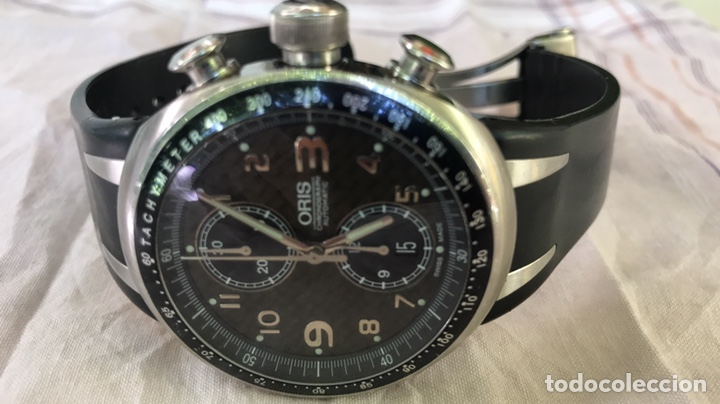 Relojes automáticos: Reloj Oris. Cronómetro Automatico de Acero. Edición Limitada a 3.000 unidades - Foto 2 - 128328246