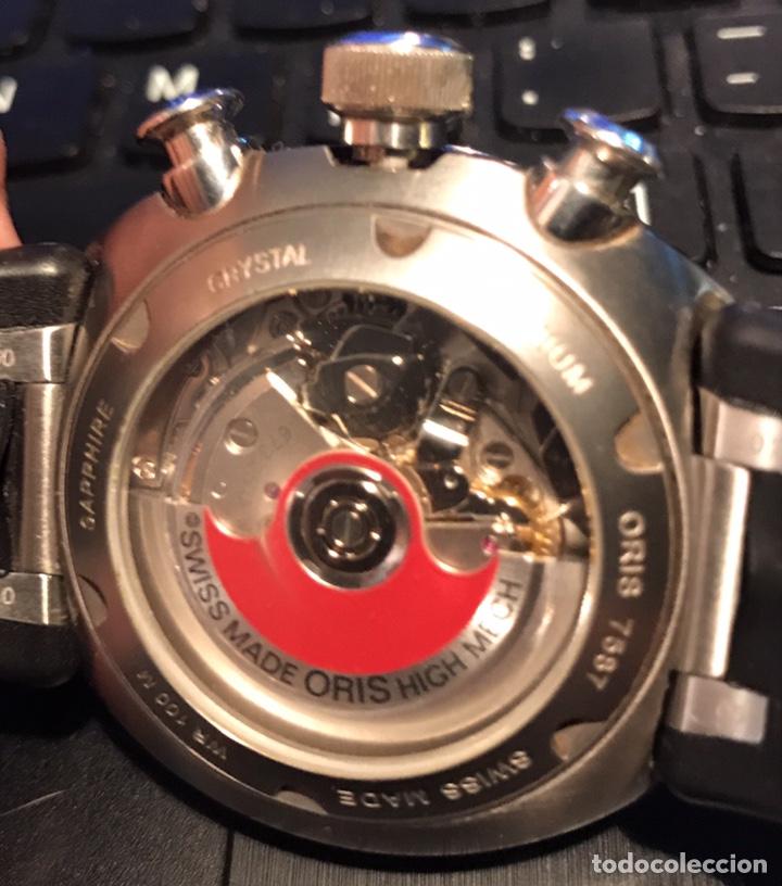 Relojes automáticos: Reloj Oris. Cronómetro Automatico de Acero. Edición Limitada a 3.000 unidades - Foto 5 - 128328246