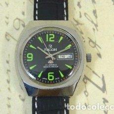 Relojes automáticos: VINTAGE RELOJ RICOH AUTOMATICO AÑOS 70 COMO NUEVO. . Lote 128479567