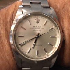 Relojes automáticos: ROLEX OYSTER PERPETÚAL . AIR KING. AUTOMÁTICO. ACERO. CERTIFICADO DE COMPRA. CAJA ORIGINAL. Lote 128517143
