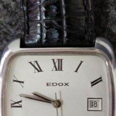 Relojes automáticos: RELOJ CABALLERO EDOX AUTOMATIC, 17 RUBÍS.. Lote 128871423