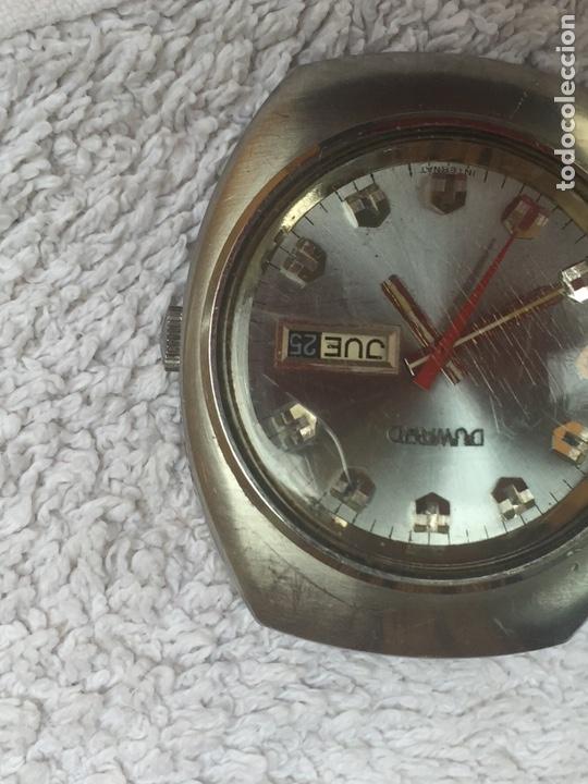 Relojes automáticos: ANTIGUO RELOJ DUWARD AUTOMATICO EN ACERO GRAN TAMAÑO FUNCIONANDO,BARATO - Foto 2 - 129075087