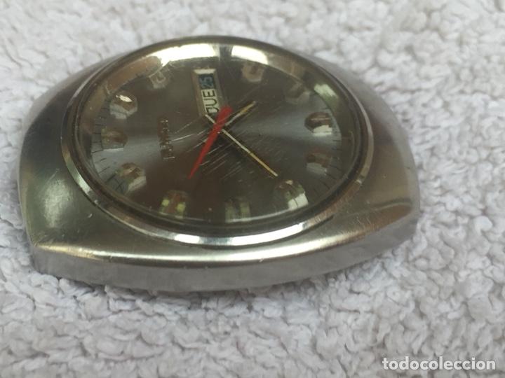 Relojes automáticos: ANTIGUO RELOJ DUWARD AUTOMATICO EN ACERO GRAN TAMAÑO FUNCIONANDO,BARATO - Foto 5 - 129075087