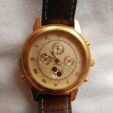 Relojes automáticos: EXCEPCIONAL RELOJ AUTOMÁTICO, REVERSIBLE DE DOBLE ESFERA DÍA-NOCHE.. Lote 129183259