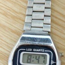 Relojes automáticos: RELOJ DAMART, DIGITAL, CORREA ACERO INOXIDABLE. Lote 129211967