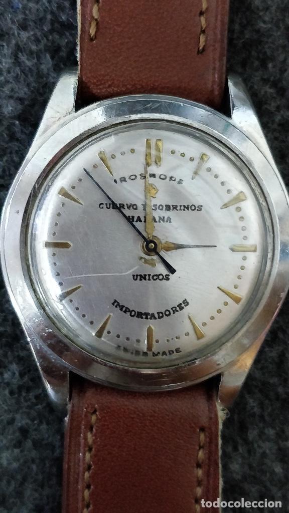 878d6abd4 7 fotos RELOJ ROSKOPF CUERVO Y SOBRINOS, HABANA, 17 JEWELS (Relojes -  Relojes Automáticos) ...