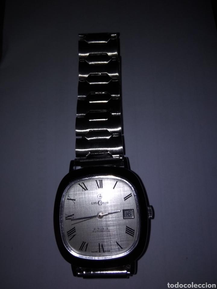 Relojes automáticos: Reloj automatico Suizo Lincoln - Foto 2 - 130695605