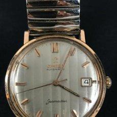 Relojes automáticos: OPORTUNIDAD OMEGA SEAMASTER CALENDARIO CHAPADO EN ORO FUNCIONANDO. Lote 130797964