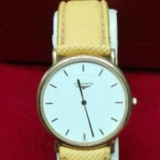 Relojes automáticos: LONGINES ORO DE LOS 80. CUARZO. Lote 130908888