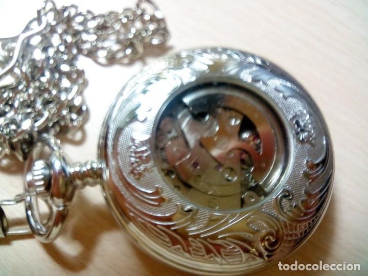Relojes automáticos: RELOJ BOLSILLO AUTOMATICO - Foto 2 - 218838606