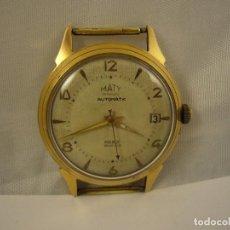 Relojes automáticos: RELOJ MATY BESANCON DE HOMBRE, 35 MM, AUTOMÁTICO, NO FUNCIONA.. Lote 131281507