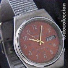 Relojes automáticos: RELOJ CITIZEN AUTOMATICO AÑOS 70 COMO NUEVO CORREA ACERO... Lote 131286167