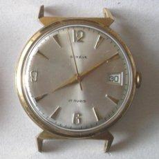 Relojes automáticos: RELOJ PULSERA GENEVE CON CALENDARIO, FUNCIONA. MED. 30 MM. Lote 131675646