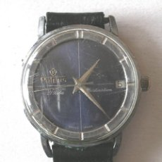 Relojes automáticos: RELOJ PULSERA POTENS DISTINCIÓN, CALENDARIO 21 RUBIS, FUNCIONA. MED. 3 CM SIN CORONA. Lote 131676610