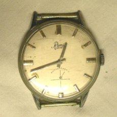 Relojes automáticos: RELOJ PULSERA CABALLERO RENIS GENEVE, FUNCIONA. MED. 3,50 CM. Lote 131676638
