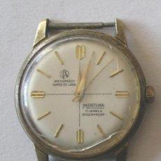 Relojes automáticos: RELOJ PULSERA CABALLERO MORTIMA, FUNCIONA. MED. 3,5 CM. Lote 131676826