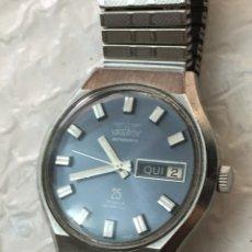 Relojes automáticos: RELOJ VANROY AUTOMATICO DOBLE CALENDARIO 25 JEWELS EN PERFECTO ESTADO. Lote 131684781