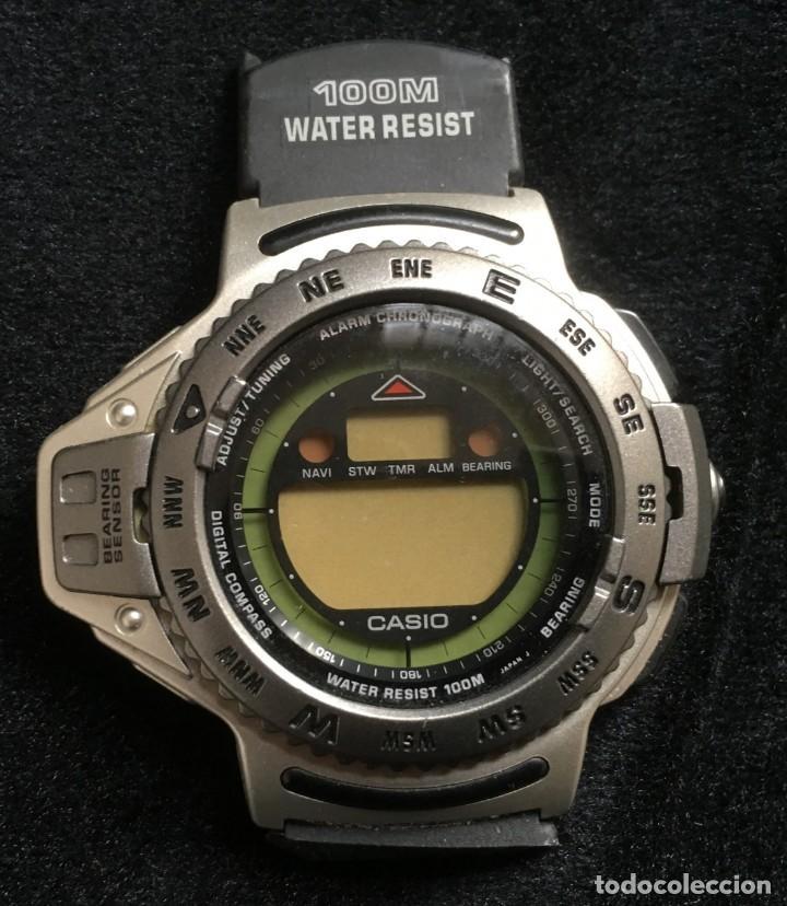 2a3e4bbd6909 Extraordinario reloj casio wrist technology