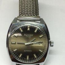 Relojes automáticos: RELOT TERMIDOR AUTOMATICO PTOCEDENTE DE IMPAGO 17 RUBIS DIAL EN ESPAÑOL. Lote 136554464