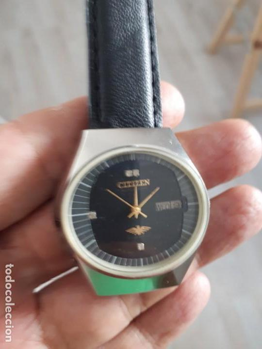 Relojes automáticos: RELOJ CITIZEN AUTOMATICO VINTAGE COMO NUEVO. - Foto 2 - 133093518