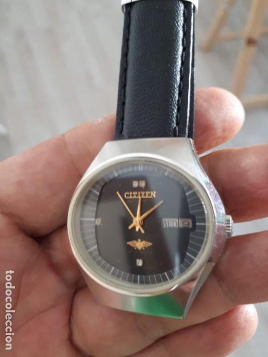 Relojes automáticos: RELOJ CITIZEN AUTOMATICO VINTAGE COMO NUEVO. - Foto 3 - 133093518