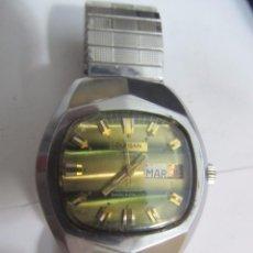 Relojes automáticos: RELOJ DURSAN AUTOMÁTICO 17 JEWELS CON CALENDARIO. Lote 142774862