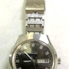 Relojes automáticos: DUWARD AQUASTAR AUTOMATIC. ACERO. FUNCIONA PERO RECOMENDAMOS REVISIÓN. ESPAÑA. AÑOS 70. Lote 133906318