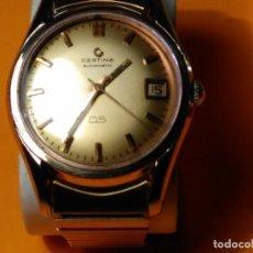 Relojes automáticos: CERTINA DS-TORTUGA AUTOMATICO. ((IMPECABLE). AÑOS 60. P.ORO 20 MIC. 36.20 S/C. FUNCION BIEN. FOTOS V. Lote 134000774