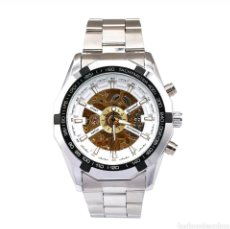 Relojes automáticos: BELLISIMO Y GRAN RELOJ ESQUELETOR CABALLERO.SÚPER ELEGANTE! .25.50 X 5.00 X 1.50 CM. Lote 134865373