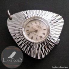 Relojes automáticos: ANTIGUO Y RARO RELOJ COLGANTE MARCA SONIA SÚPER DE LUXE ANTIMAGNETICO (FUNCIONA) 70S, RETRO VINTAGE. Lote 109803795