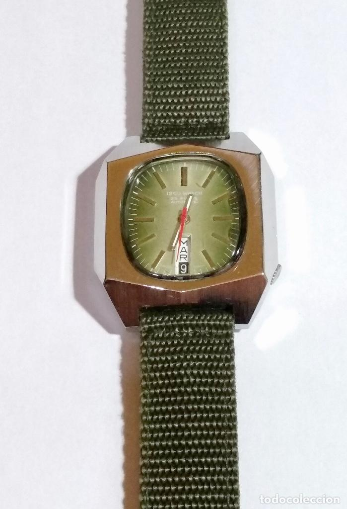 ISCO WATCH AUTOMATICO 25 RUBIS CAL. AS 2066. MEDIDA 42X 36 M/M. DOBLE CALENDARI,BUÉN FUNCIONAMIENTO. (Relojes - Relojes Automáticos)