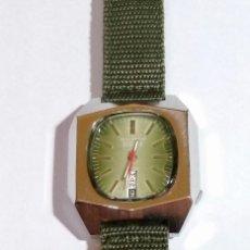 Relojes automáticos: ISCO WATCH AUTOMATICO 25 RUBIS CAL. AS 2066. MEDIDA 42X 36 M/M. DOBLE CALENDARI,BUÉN FUNCIONAMIENTO.. Lote 135780454