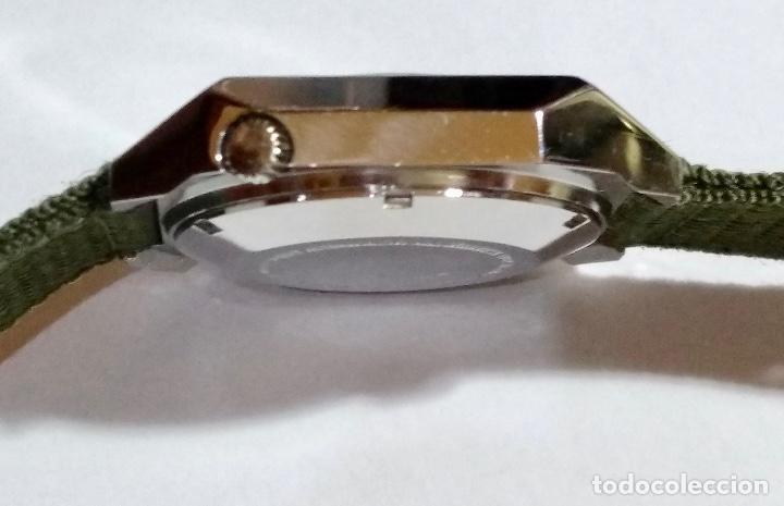 Relojes automáticos: ISCO WATCH AUTOMATICO 25 RUBIS CAL. AS 2066. MEDIDA 42X 36 M/M. DOBLE CALENDARI,BUÉN FUNCIONAMIENTO. - Foto 5 - 135780454