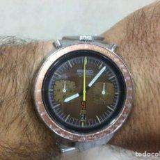 Relojes automáticos: RELOJ CRONOGRAFO SEIKO BULLHEAD AUTOMATICO VINTAGE. Lote 147126286