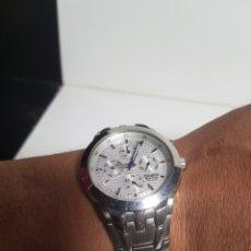Relojes automáticos: RELOJ CASIO COREÓGRAFO FUNCIONA PERFECTAMENTE CON SU CORREA ORIGINAL. Lote 136521000