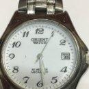 Relojes automáticos: RELOJ ORIENT WATCH 50 METROS PROFUNDIDAD,FUNCIONA PERFECTO,JAPOMES ACERO COMPLETO. Lote 137523126