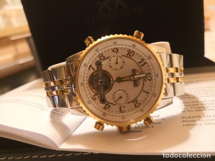 Air Reloj Model Precioso Hindenberg Profesional Through Sold F1JKcTl5u3