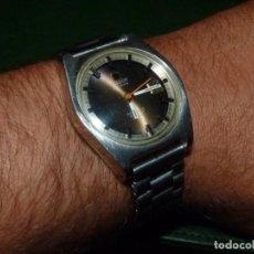 Relojes automáticos: PRECIOSO RELOJ TISSOT SEASTAR PR516 GL CLASICO AUTOMATICO ACERO VINTAGE RARA ESFERA MARRÓN VINTAGE. Lote 137948982