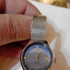 Relojes automáticos: RELOJ ACERO SEÑORA ORIENT CRYSTAL 21 JEWELS FUNCIONANDO MODELO RARO. Lote 137991382
