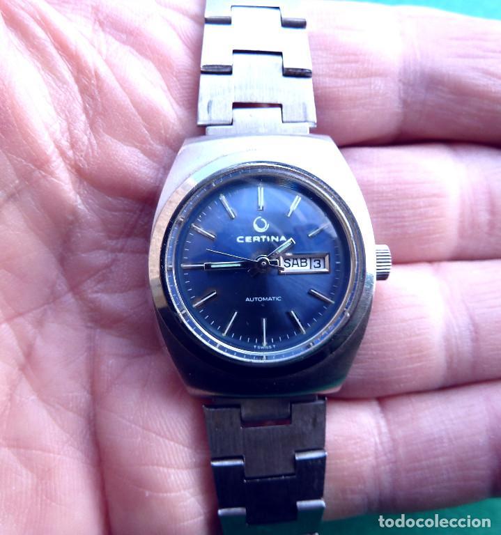 Relojes automáticos: Reloj automático Certina de señora. - Foto 4 - 138888810