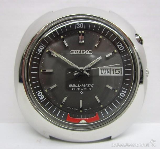 Relojes automáticos: ANTIGUO RELOJ SEIKO BELL MATIC ALARMA AUTOMATICO DE COLECCION PARA HOMBRE VINTAGE - Foto 2 - 59445305