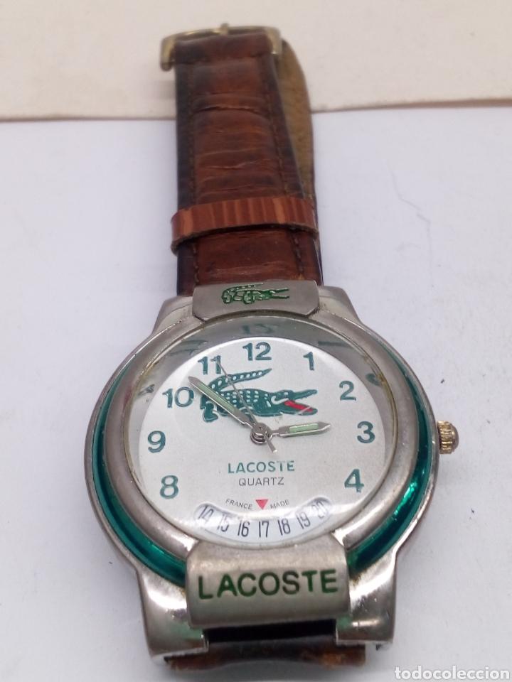 ed52830c187 Reloj lacoste quartz en funcionamiento - Vendido en Subasta - 139283732