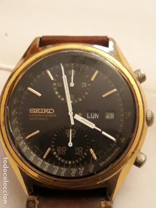Relojes automáticos: reloj de pulsera caballero chronograph automatic ,seiko, maquinaria seventeen 61388,21 JEWELS, JAPAN - Foto 2 - 139398026