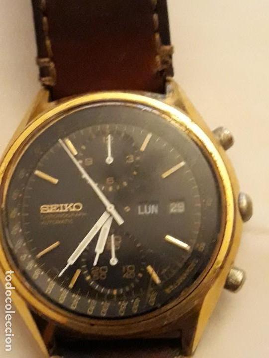 Relojes automáticos: reloj de pulsera caballero chronograph automatic ,seiko, maquinaria seventeen 61388,21 JEWELS, JAPAN - Foto 3 - 139398026