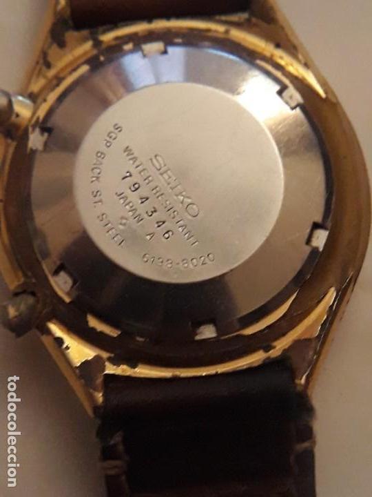 Relojes automáticos: reloj de pulsera caballero chronograph automatic ,seiko, maquinaria seventeen 61388,21 JEWELS, JAPAN - Foto 4 - 139398026