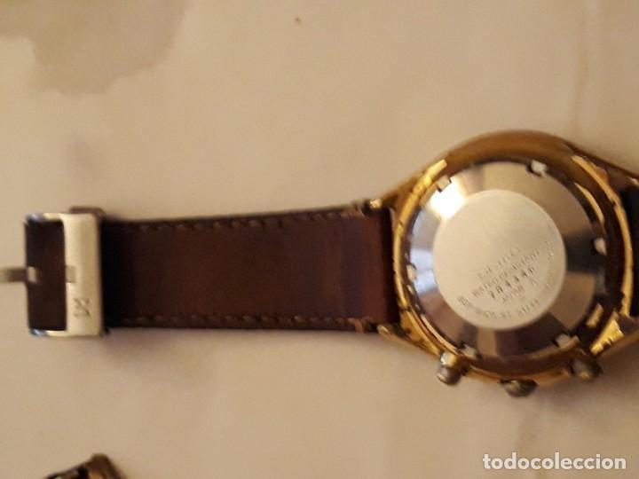 Relojes automáticos: reloj de pulsera caballero chronograph automatic ,seiko, maquinaria seventeen 61388,21 JEWELS, JAPAN - Foto 5 - 139398026