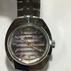 Relojes automáticos: RELOJ CITIZEN AUTOMÁTICO CRISTAL DIAMANTADO ESPECIAL COMO NUEVO DE FÁBRICA VINTAGE. Lote 143456489