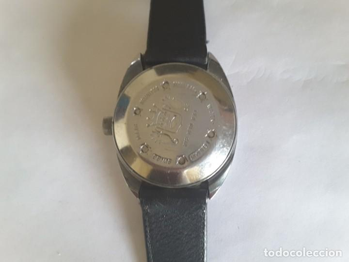 Relojes automáticos: Antiquísima reloj sicura - Foto 2 - 139530594