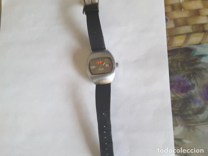 Relojes automáticos: Antiquísima reloj sicura - Foto 3 - 139530594